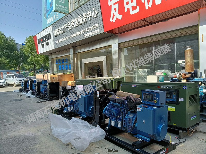 50kW潍柴原装发电机2