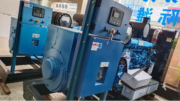 增压柴油发电机的性能