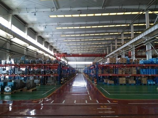 潍柴工厂环境
