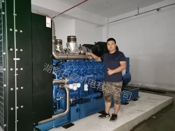 芦溪人才服务中心(人才公寓)项目采购我司潍柴原装发电机组一台